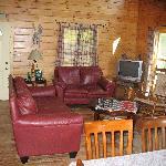 living room looking from back door