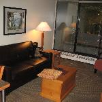 Living Room, West Coast Suites UBC