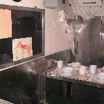 潜水艦内の食堂