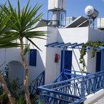 greek blue & white
