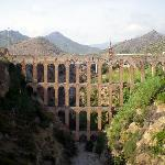 Ancient viaduct in Maro