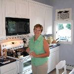 Barb in the Kitchen