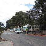 end of the RV park