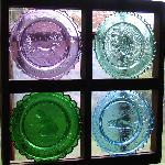 View through Sanwich Glass