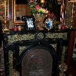 Fireplace & Mantle in Tapestry Rooms