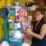 GREAT Shave Ice, Beautiful and Friendly Servers