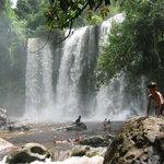 Waterfalls Phnom Kulen