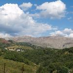 Hills behind Scalea