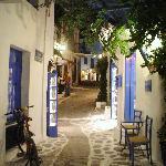 Street, Skiathos old town