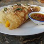 The Mango Pancake -- a must try!