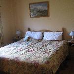 Master bedroom of type D single cottage.