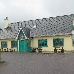 The Old Killarney Pub and restaurant at the end of the street.