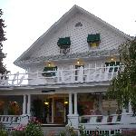 Whaley Mansion B&B in the morning