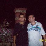 Myself and Omar at the Riad