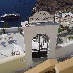 Entrance to Villa Renos