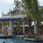 Beautiful Pool with Swim-up Bar