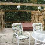 Abagales Deck and Hot Tub