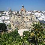 Jerez Cathedral from the Alcazar