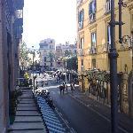 Corso Italia visto dalla finestra