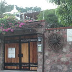 entrance to Hacienda Alemana