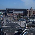 vue de la chambre : central station