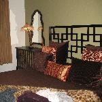Nice furniture in deluxe room
