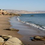 Small beach of Taghazout