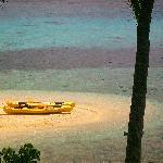 Stunning little beach at Mala - View from restaurant