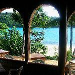 View from restaurant - Mala Island