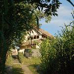 vue de la villa du haut