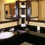The super big vanity.