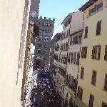 View of Piazza from window