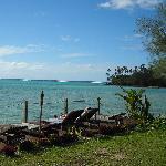 Muri Lagoon - from the resort