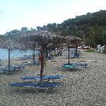 beach at Hotel Belle Helene