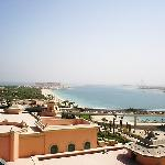 view overlooking Jumeirah Beach
