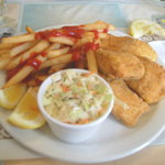 Our 4 piece Whitefish Dinner