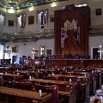 Inside the South Carolina House of Representatives Chamber