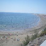 Beach 10 mins walk away