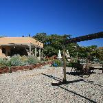 The backyard of the Chocolate Turtle