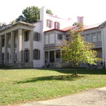The Belle Meade Mansion.