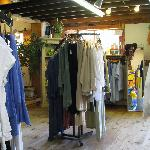 More clothes - downstairs