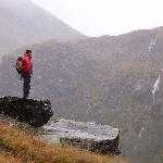 View of Steall Falls.