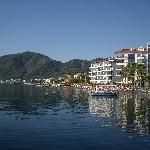 Along beach front Marmaris