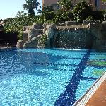 One of the pools at Elegance Hotel