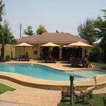 Chita Lodge garden