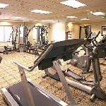 Spacious Fitness Center with Treadmills, Elliptical, Bike, and Universal Gym