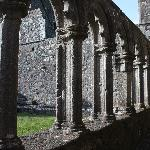 Ireland: co. Meath - Fore: the Cloister
