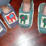 Slippers - way cool!
