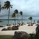 FSMRU - Man-made sandbank just in front of the Main Pools
