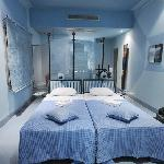 The Blue Room. Other rooms have double bed.
